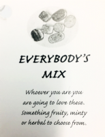 EVERYBODY'S MIX 400G KILNER STYLE  GLASS JAR